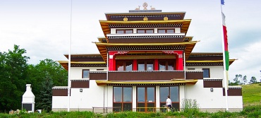 Buddhista Sztupa és Tara Templom